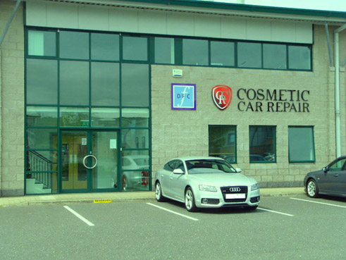 Cosmetic car repair belfast
