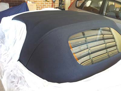 Convertible roof / Soft top roof Restoration